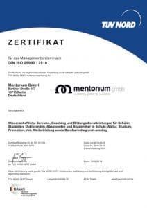 Tüv Zertifikat Statistik Nachhilfe Datenanalyse Betreuung Beratung